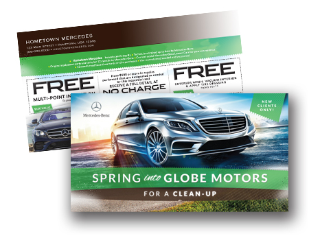 Ny Automotive Marketing Agency Automotive Direct Mail Premium 123