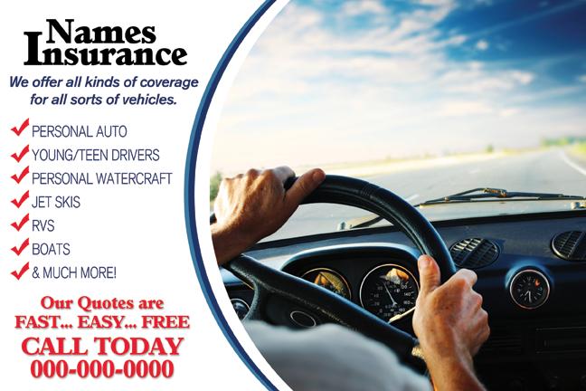 auto insurance direct mail automotive service