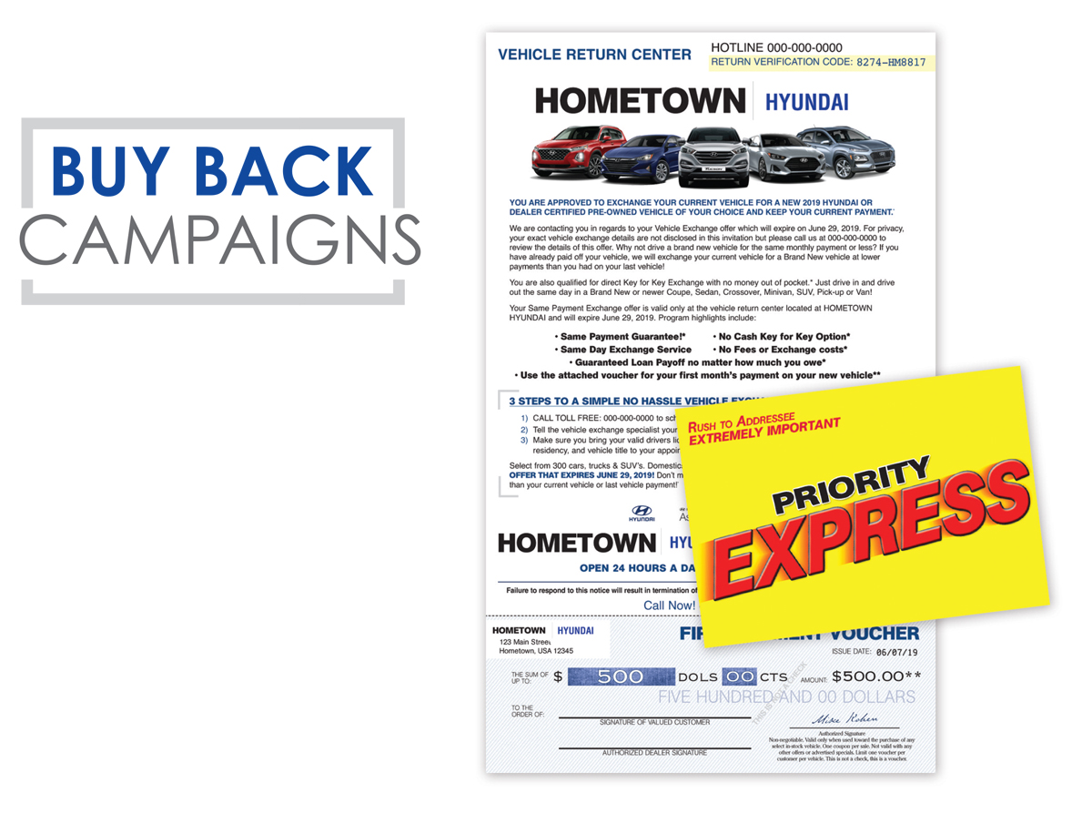 Buy Back Campaigns