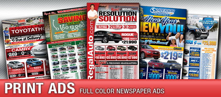 Ny Car Dealer Automotive Print Marketing Promotional Printing