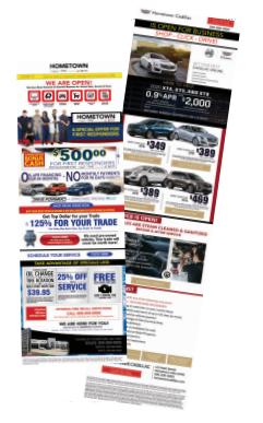 automotive conquest email marketing